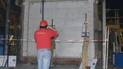 Fire-resistant overheaddoors - EN1634-1 - Efectis - Protec Industrial Doors