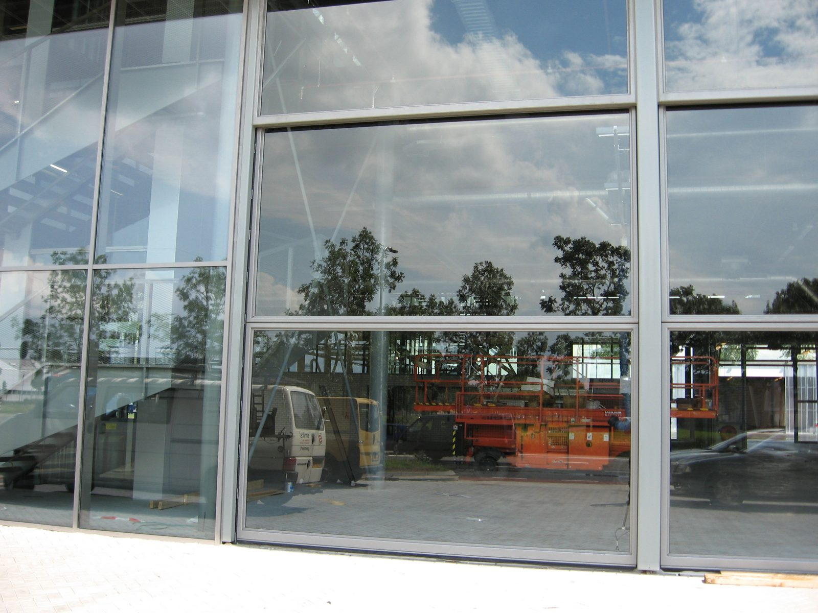 Fire Station Zwolle Special Glass Doors Protec Industrial Doors