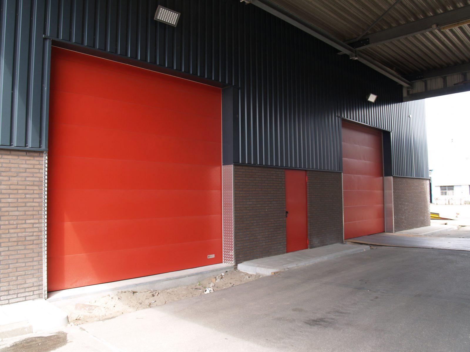 Fire Resistant Overheaddoors   Protec Industrial Doors