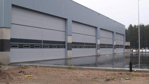 Burglar resistant hangar doors - Protec Industrial Doors