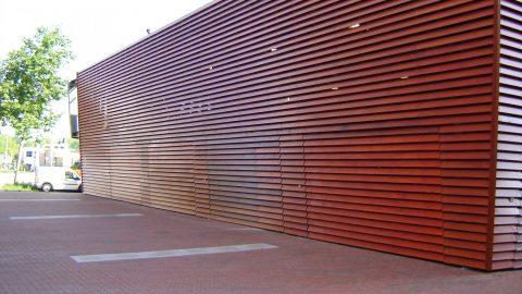 Doors in line with the facade - Protec Industrial Doors