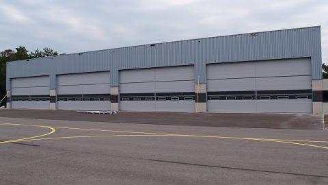 Large burglar-resistant overheaddoors - Protec Industrial Doors