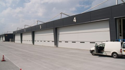 Maximum security doors - Army base - Protec Industrial Doors