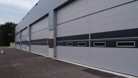 Security - large doors - Protec Industrial Doors