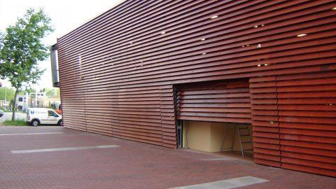 Special overheaddoors - Facadeelements - Protec Industrial Doors
