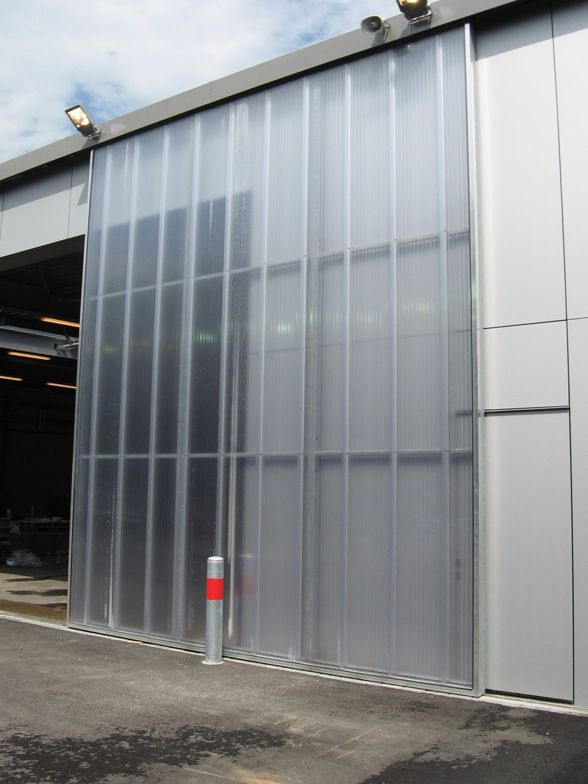 Fire Station Zwolle Special Glass Doors Protec