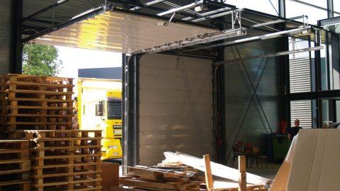 Architectural design - Sectional door - Protec Industrial Doors