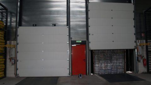 Fire-proof sectional doors - Protec Industrial Doors