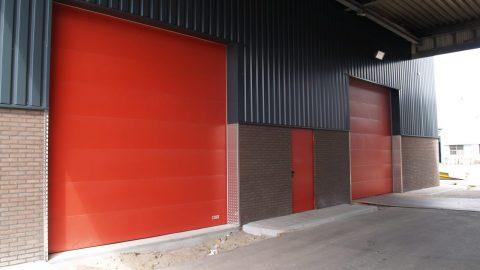 Fire Resistant Overhead Door Gebotex Protec Industrial
