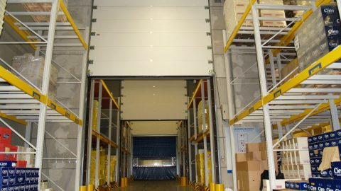 Firedoors Tested and certified EI1 EN-1634-1 Protec Industrial Doors