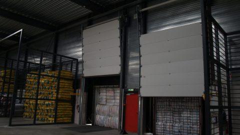 Fireproof overheaddoors - EN1634-1 - Protec Industrial Doors