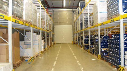Fireproof sectional doors - Lidl - Protec Industrial Doors