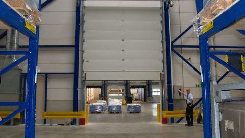 Liquid retaining doors - Vivochem - Protec Industrial Doors