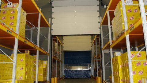 Sectional doors - Fire resistance - Overhead - Protec Industrial Doors