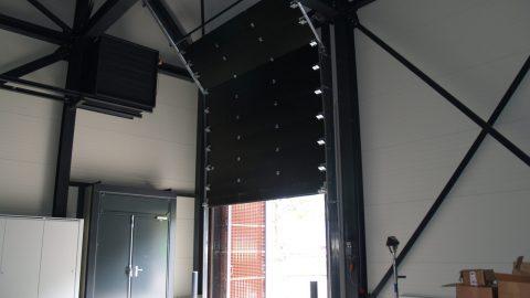 Sound insulating overheaddoor - Protec Industrial Doors