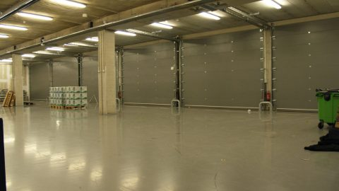 Noise insulating doors - Ziggo Dome Amsterdam -Rehearsal Rooms - Studio doors