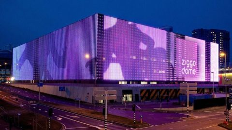 Ziggo Dome - acoustic doors - sound insulation - Live Nation - Ziggo Dome - Concert Arena - 63 Hz
