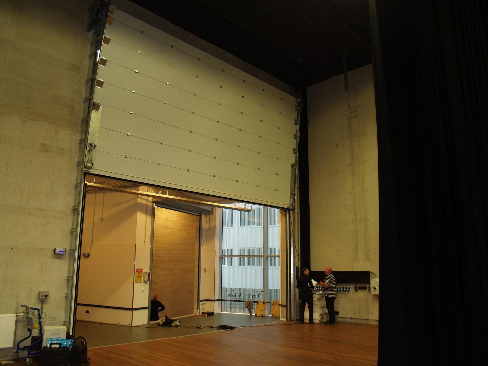 City Theatre De Kom Acoustic Doors Protec Industrial