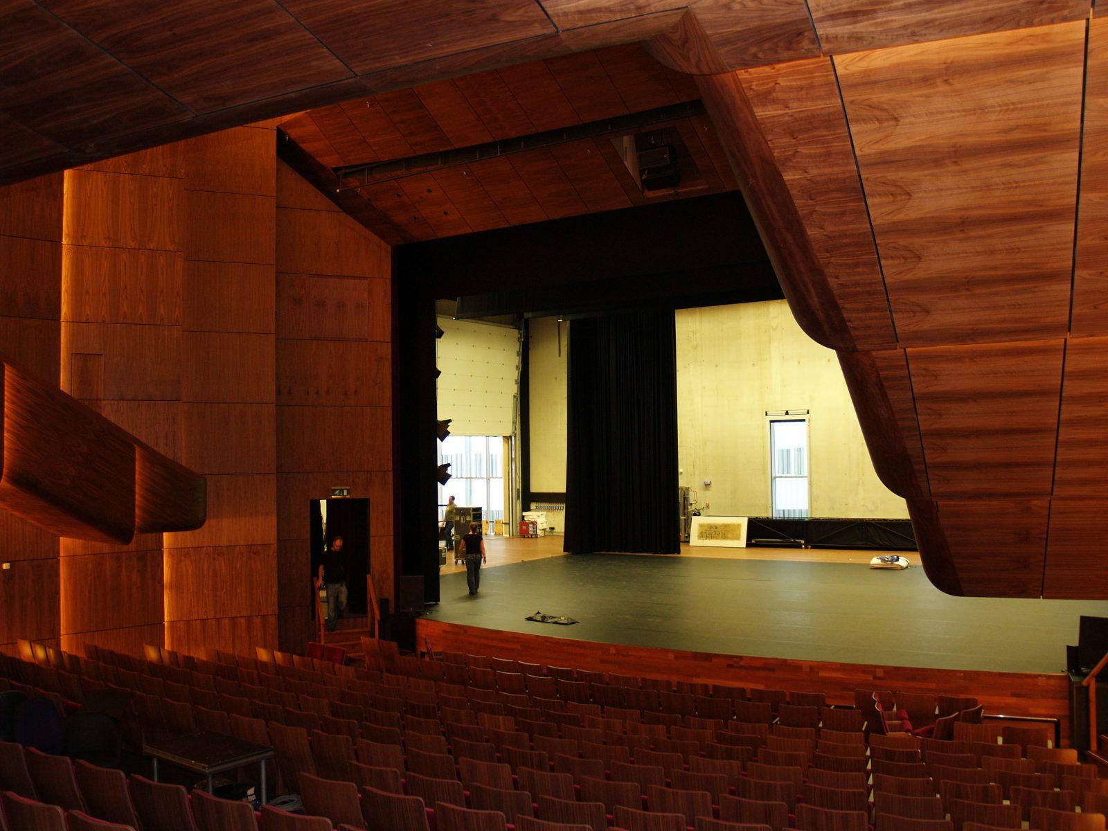 Sound insulating doors - Aesthetic doors - Protec Industrial Doors & City theatre - De Kom - acoustic doors - Protec Industrial Doors