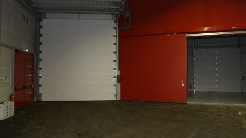 Acoustic insulation EN-ISO-10140-3 and fire resistance EN-1634-1 by Protec Industrial Doors