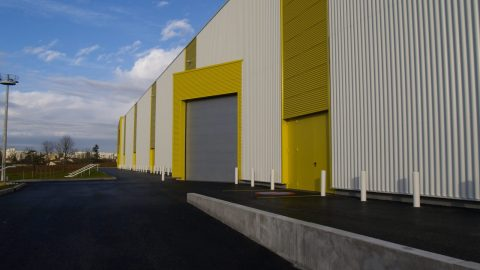 Fire resistant overheaddoors with sound inuslation - Protec Industrial Doors